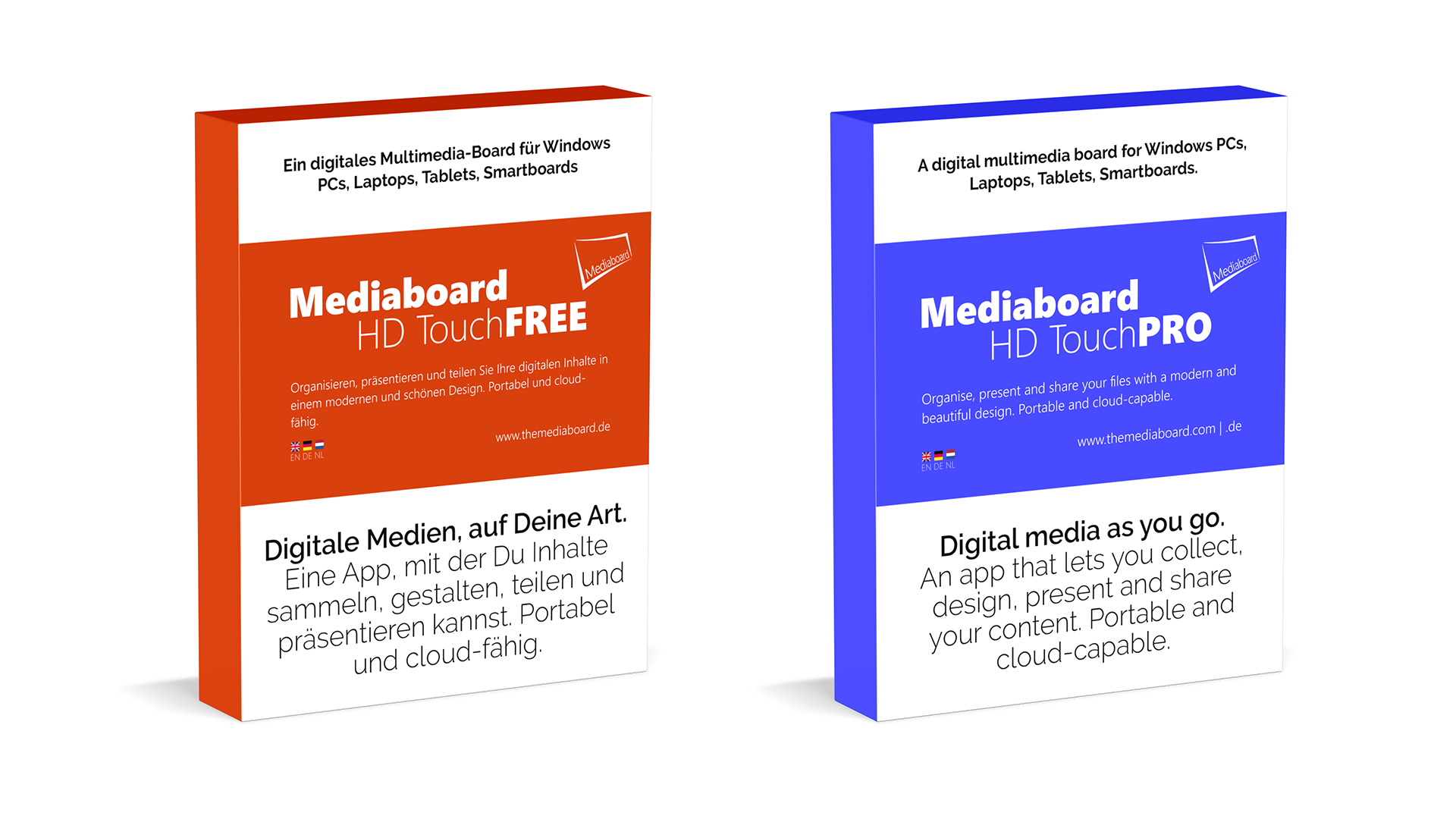mediaboard boxshot mockups FREE and PRO DE 1920x1080 - About The Developer - André Gansel, IT Enthusiast